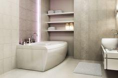 Płytki łazienkowe - Stacatto Staco - Stacatto lazienka aranz RC2-29-59