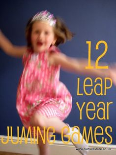 Are you marking the Leap Year with your kids? These Leap Year ideas for kids include action games combining maths, literacy, art and jumping for joy. Gross Motor Activities, Movement Activities, Gross Motor Skills, Toddler Activities, Activities For Kids, Winter Activities, Outdoor Activities, 4 Kids, Cool Kids