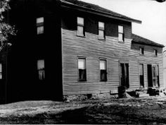 David Richardson's frame home on East Henrietta Road, near Castle Road, shown in a 1936 photo, was a stop on the Underground Railroad. It wa...