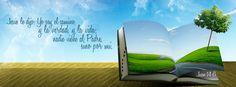 """Jesús le dijo - Juan 14:6 """"Jesús le dijo: Yo soy el camino, y la verdad, y la vida; nadie viene al Padre, sino por mí."""""""