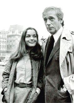 1977 romy son mari daniel leur fille sarah et le fils for Piscine yves nayme