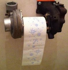 A good idea for an old turbocharger