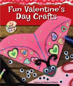 Cover image for Fun Valentine's Day crafts
