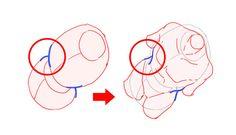 肋骨と骨盤に分けて考える! 身体を描きやすくするアタリの取り方|イラストの描き方  2/3    Drawing a beautiful waist-line: think of the ribs and bassin separately! | Illustration tutorial  2/3