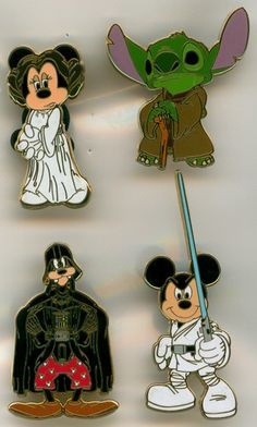 This should be illegal. I don't care what they say star wars is Not DISNEY Material Star Wars Disney Pins, Disney Pins Sets, Disney Trading Pins, Disney Magic, Disney Pixar, Disney Pin Display, Disney Pin Collections, Disneyland Pins, Princesa Leia
