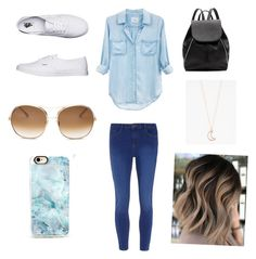 """""""A Day Out"""" by a-dam-fangirl ❤ liked on Polyvore featuring Rails, Dorothy Perkins, Vans, Chloé, Casetify, Witchery and Full Tilt"""