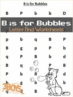 Pin101 Tweet Share +11 Stumble29 EmailThese Find the Letter Printables: B is for Bubbles will help your preschool and early-elementary aged children work on recognizing the letter B among many other letters of the alphabet. I am always sharing some free Find the Letter Printables and other resources to help you teach your children all about the Alphabet.  I […]