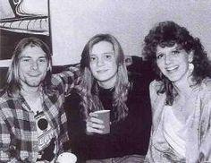 Kurt Cobain´s mother and sister.