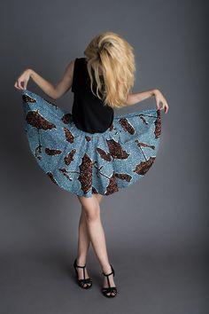 Short Circle Skirt von Fadenspiel