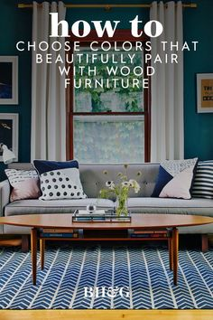 Refer to our guide to help you choose the best colors for wood tones and create a palette that showcases wood's natural good looks. #colorsthatgowithwood #paintcolorideas #paintforwoodtrim #bhg Colours That Go Together, Wood Furniture, Outdoor Furniture, Outdoor Sofa, Outdoor Decor, Best Paint Colors, Cool Paintings, Master Bedrooms, Painting On Wood