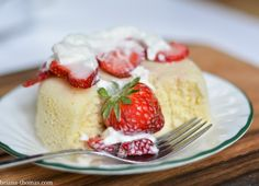 5 Ingredient White Cake  Add 4 TBSP baking blend And 2 TBSP Truvia and bake in 8X8 pan for cake