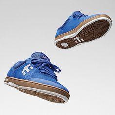 he @etniesskateboarding Marana available now in blue at your local skate shop! #etnie