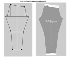 Draft-and-Sew-Leggings