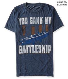 Battleship Graphic T -