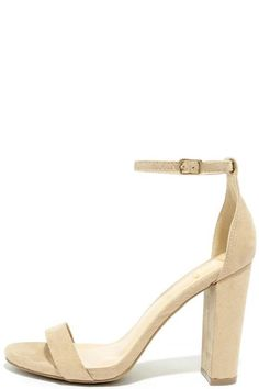 b893e6b09fb Lulu sTAYLOR NATURAL SUEDE ANKLE STRAP HEELS LULUS Shoes Size 5.5  fashion   clothing