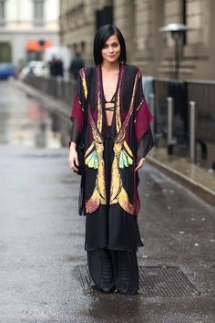 robe style fall coat