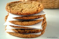 Chewy Ginger Cookies are the ultimate fall and holiday cookie, full of spices and molasses, they're easy to make and your whole house will smell amazing.