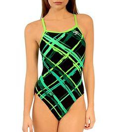 5cf67a320774c Illusions Camo Glow Thin Strap at SwimOutlet.com - Free Shipping ...