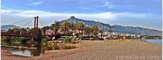 Pasarela de Río Verde. Playa de Río Verde