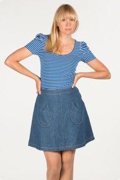 Jumperfabriken Denim Skirt, Skirts, Summer, Fashion, Moda, Summer Time, Fashion Styles, Skirt