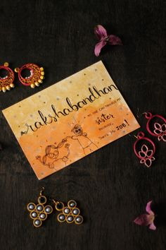 Rakshabandhan // 2018 A different take on the classic festival of Brothers & Sisters - Celebrated in India. Raksha Bandhan Cards, Raksha Bandhan Wishes, Cute Birthday Gift, Birthday Cards, Diy Rakhi Cards, Rakhi Message, Rakhi Photo, Diwali Gift Box, Bff Day