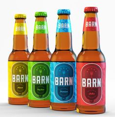 Beer Barn Brazil beer labels designed by Barto Design Studio