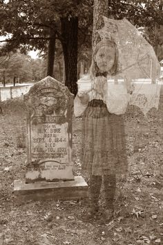 Make your own ghost photos with your family! I just thought of this and thought i was so original but apparently it's been done before, lol