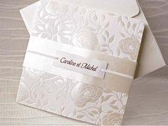 Invitación de boda elegante 32817