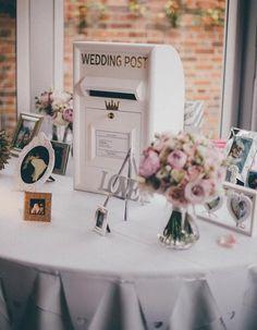 cadeau mariage: bôite aux lettres DIY pour les cartes de voeux