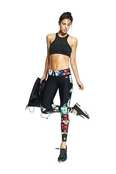 Stylerunner - the leading destination for the world's most coveted activewear - running bare diva full lenght tight betsy 110 + adidas stella mc cartney