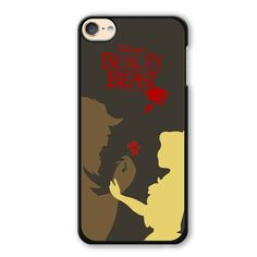 Beauty And The Beast Pster Phonecase Cover Case For Apple Ipod 4 Ipod 5 Ipod 6