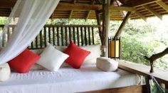 Veranda Natural Resort: A collection of private bungalows made from stone, wood and thatch, tucked within the lush jungles of Cambodia below Kep. Places To Travel, Places To Go, Boat Decor, Adventure Bucket List, Outdoor Furniture, Outdoor Decor, Glamping, Outdoor Living, National Parks