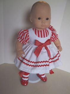 American Girl 15 Doll Clothing  Bitty Baby by sewsweetdollboutique, $20.00