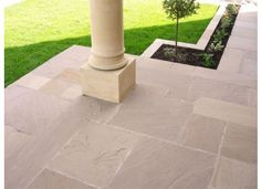 Raj Green Sandstone Paving - 18m² Patio Kit Similar to Yorkstone