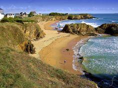 Le Pouldu, Clohars-Carnoët, Finistère, Brittany (France).