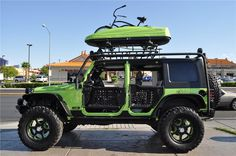 Jeep Wrangler Rubicon | Barrett-Jackson Lot #54.1 - 2010 JEEP WRANGLER 4 DOOR CUSTOM SUV