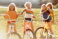 """This could be a picture of you and your girlfriends from your long summer holidays. (<a href=""""http://milestogomommy.blogspot.com.au/2012/01/my-sweet-ride.html"""">Img</a>)"""