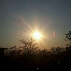 El Soberano Sol! Cayendo en el atardecer....