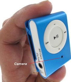spy MP3 player camera