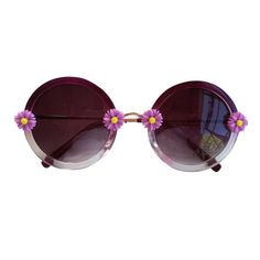 Purple Daisy Ombre. Need these to add to my sunglass collection! <3