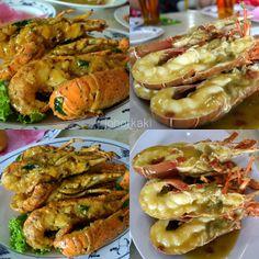 Lobsters at Jade Garden Seafood Corner at Sungai Rengit, Pengerang, Johor - Second Visit 翡翠园海鲜酒家