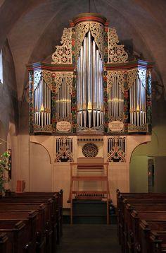 Orgel in St. Andreas Ostönnen, Nordrhein-Westfalen