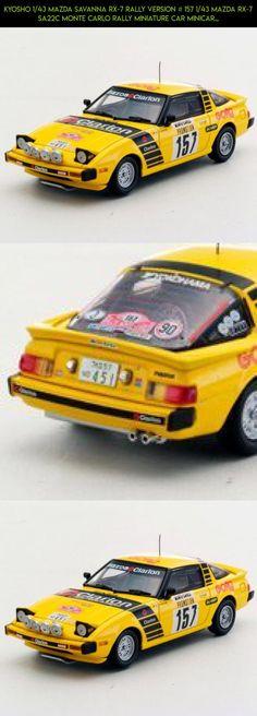 Kyosho 1/43 Mazda Savanna RX-7 rally version # 157 1/43 Mazda RX-7 SA22C Monte Carlo Rally miniature car minicar Kyosho #car #plans #kit #rally #drone #tech #products #kyosho #racing #shopping #fpv #technology #camera #parts #gadgets