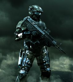 UNSC Army Soldier by LordHayabusa357.deviantart.com on @deviantART