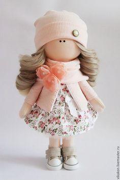 Куклы тыквоголовки ручной работы. Заказать Интерьерная куколка. Виктория. Ярмарка Мастеров. Кукла ручной работы, кукла Тильда