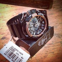 I like...  #Casio #G-Shock #GA-200RG-1AER #wasserdicht #stoßfest #Backlight