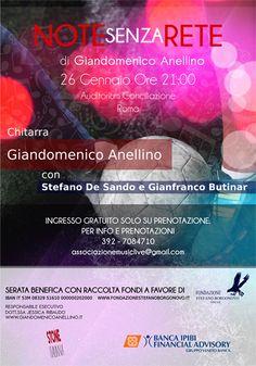 Musica e calcio contro la SLA il 26/01/2013 a Roma