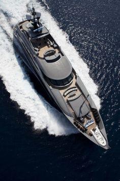 Moonlight yachting