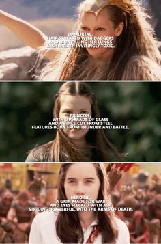 G I R L, with an accent of blood who speaks in foreign tongues whose vowels are the sound of metal clashing. #narnia