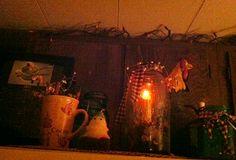 Mason jar country light